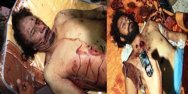 تفاصيل الأيام الأخيرة للقذافي: أصيب kadafi_et_son_fils_7
